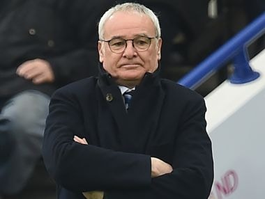 Claudio Ranieri was sacked just months after he led Leicester City to the title. AFP