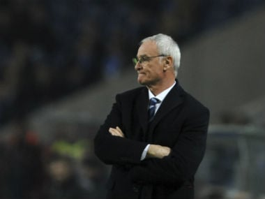 File photo of Claudio Ranieri. AP