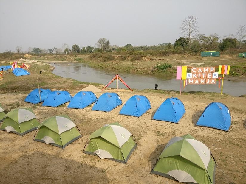 Kite Manja campsite