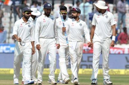 Virat Kohli's & Co have gone 19 Test matches unbeaten. AFP