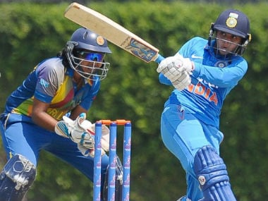 Devika Vaidya top-scored for India with an unbeaten 89. Image courtesy: BCCI official Twitter account