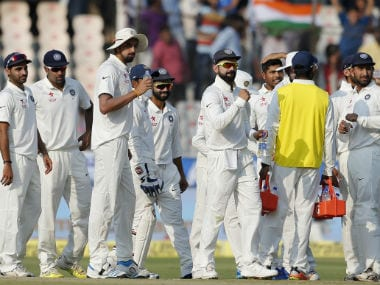 Getting a wicket just before stumps would have done the Indians a whole world of good. AP