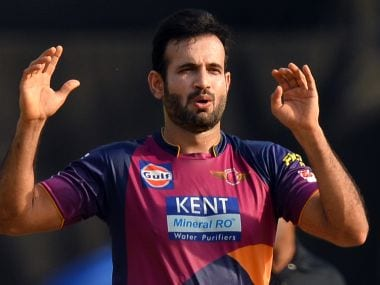 File photo of bowler Irfan Pathan from the 2016 Indian Premier League. AFP