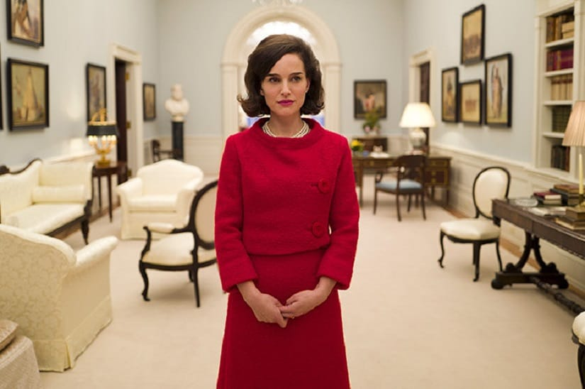 Natalie Portman in and as Jackie