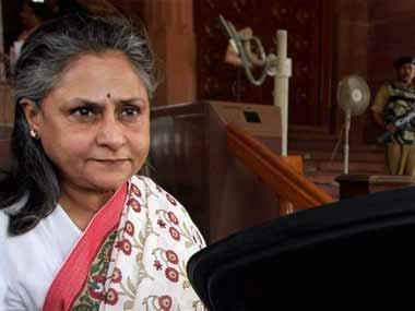 Jaya Bachchan. PTI