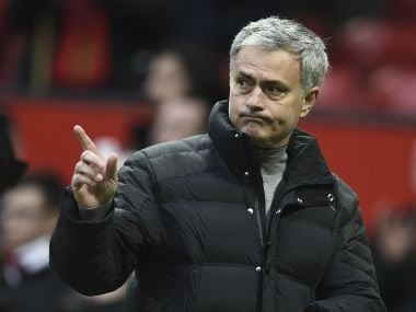 File photo of Manchester United boss Jose Mourinho. AFP