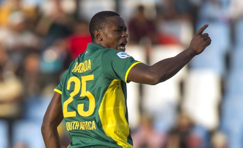 South African Kagiso Rabada has charted a meteoric rise from the U-19 World Cup into the senior Proteas team. AFP