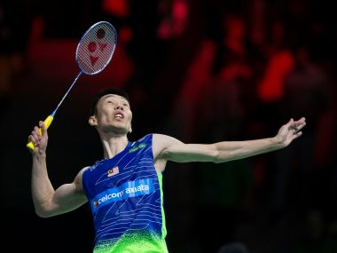 Lee Chong Wei of Malaysia. Reuters