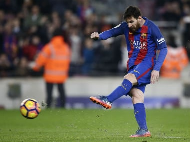La Liga: Lionel Messi rescues Barcelona with last-minute penalty, Valencia ease past Athletic Bilbao