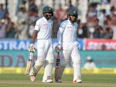 Mushfiqur Rahim and Mehedi Hasan have a key role to play for Bangladesh on Day 4. AFP
