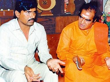 File image of Chandrababu Naidu and NT Rama Rao. Image procured by the authors