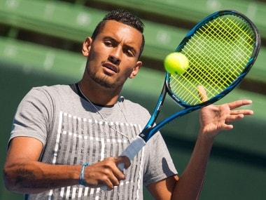 File image of Nick Kyrgios. Twitter/Tennis Australia