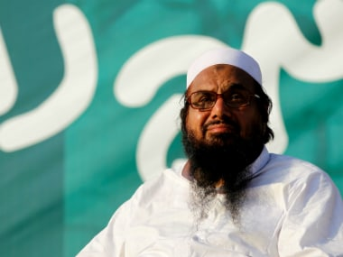 File photo of Hafiz Muhammad Saeed. Reuters