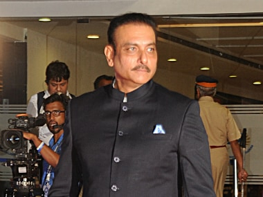 File photo of Ravi Shastri. AFP