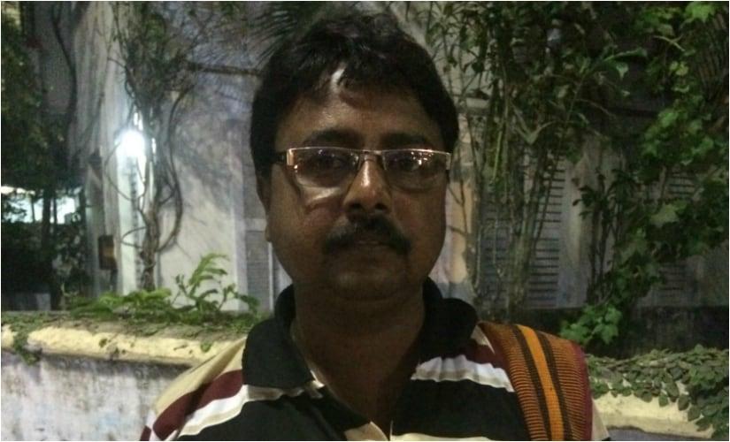 Saktipada Mondal has been sensitising the residents of Madhusudanpur. Firstpost/Annanya Sarkar