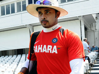 File photo of S Sreesanth. AFP