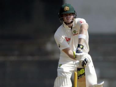 Steve Smith hit 107 and Shaun Marsh 104 against India A. AP