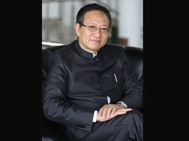 File image of Nagaland chief minister TR Zeliang.