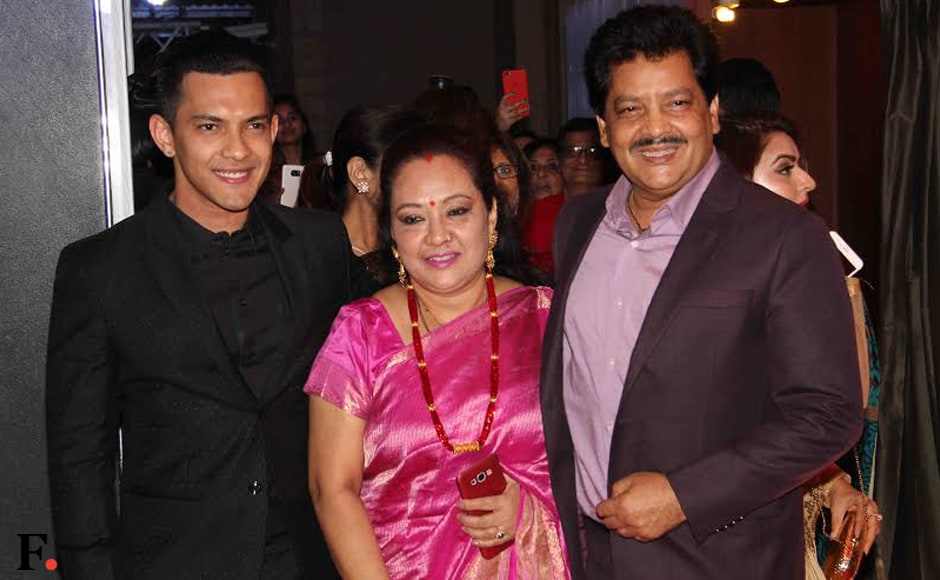 Udit Narayan dropped by with his family. Image: Sachin Gokhale/Firstpost
