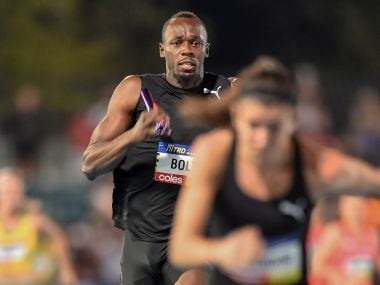 Nitro Athletics: Usain Bolt leads his All-Stars team to victory on opening night of inaugural meet