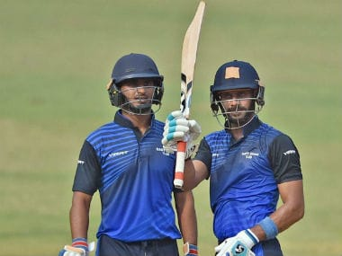 Virat Singh and Manoj Tiwary forged an unbroken 146-run stand for the third wicket. PTI