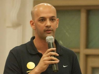 File photo of former Indian hockey captain Viren Rasquinha. Image courtesy: Viren Rasquinha official Twitter account