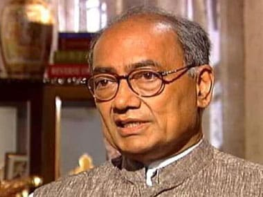 File image of Digvijay Singh. Agencies