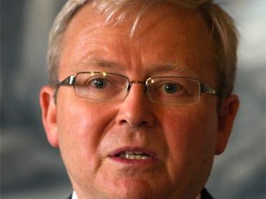 File image of Kevin Rudd. AP