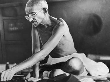 File image of Mahatma Gandhi.
