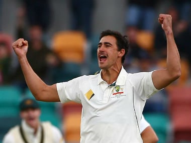 File photo of Mitchell Starc. Reuters