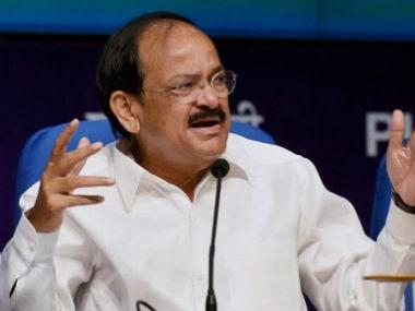 Venkaiah Naidu. PTI