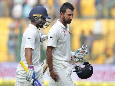 India will bank on Ajinkya Rahane and Cheteshwar Pujara to come good once again on Day 4. AP