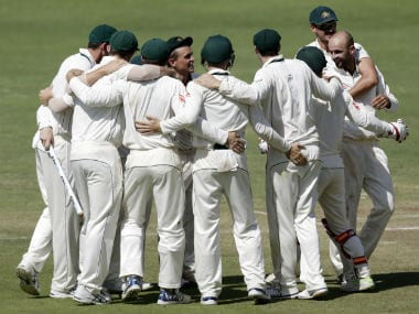 Australia hammered India by 333 runs in the first Test in Pune. AP