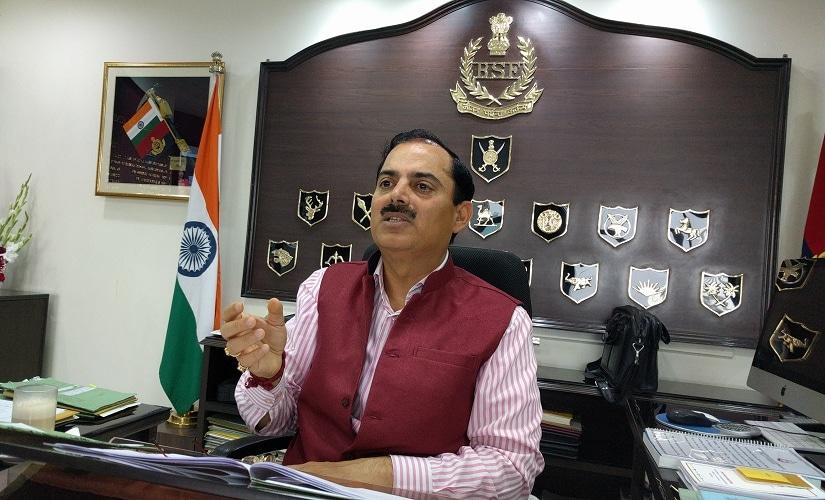 BSF director-general KK Sharma. Firstpost/Debobrat Ghose