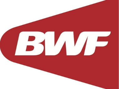 File photo of BWF logo. Twitter: @bwfmedia