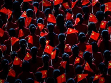 Reresentational image of flags of the Communist Party of China (CPC). Reuters