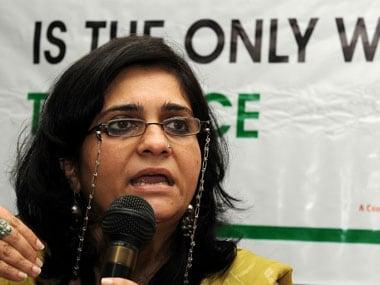 File image of Teesta Setalvad. AFP
