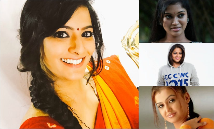 (Clockwise from right) Sri Priyanka, Priyamani, Sona Heiden and Varalaxmi Sarathkumar.