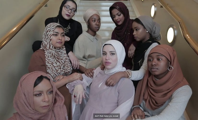 Watch: This rap video by pregnant hijabi Mona Haydar makes a point about Islamophobia, feminism