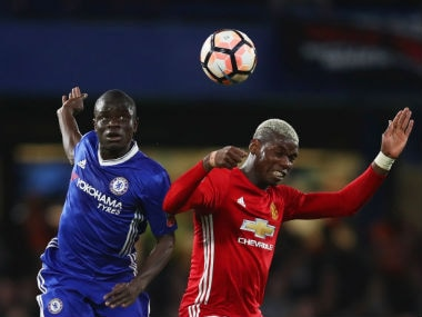FA Cup: NGolo Kante guides Chelsea to win against 10-man Manchester United in fiery quarter-final