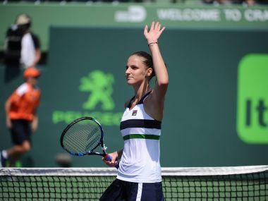 Karolina Pliskova cruised into the third round of the Miami Open. Iamge courtesy: Facebook/@MiamiOpen