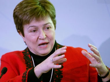 World Bank CEO Kristalina Georgieva. Reuters