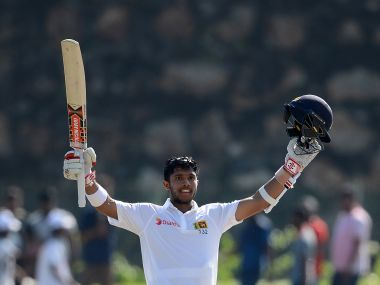 Kusal Mendis hits a fine century to put Sri Lanka in strong position on Day against Bangladesh. AFP