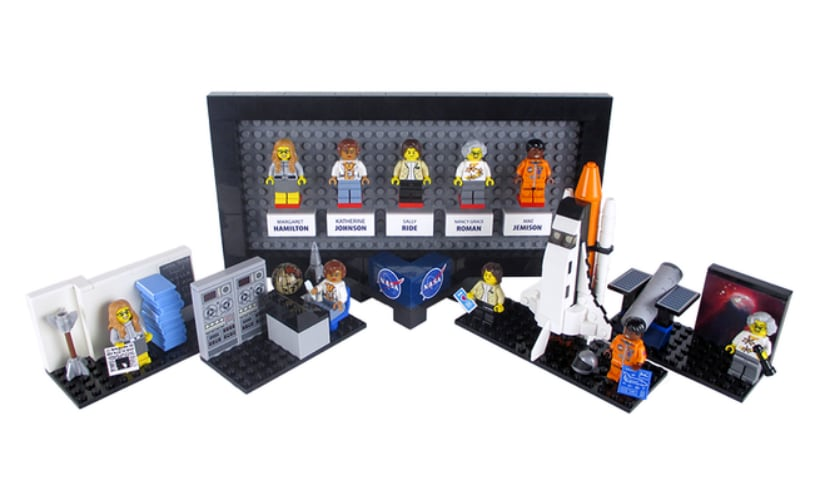 Hidden figures no more: Lego to release new toy set to honour women of Nasa