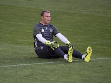 Germany captain Manuel Neuer. AFP