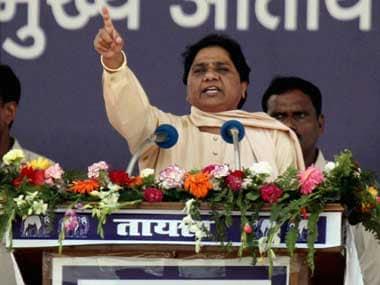 BSP supremo Mayawati. PTI