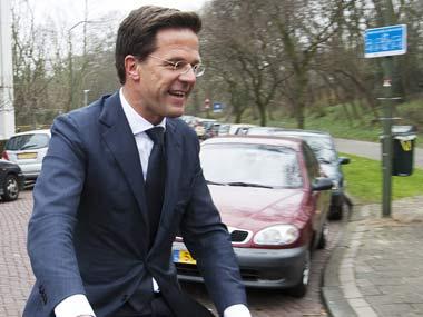 Netherlands Prime Minister Mark Rutte. AP