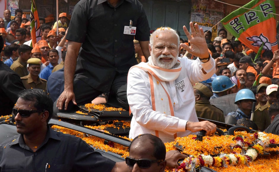 However, some felt differently, like Union Minister Upendra Kushwaha, who took exception to Modi holding a roadshow, saying it is not appropriate for his high office and he should address rallies only. PTI