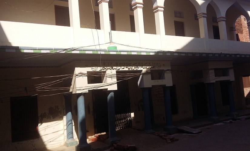 Madrasa Al-Arabia Darul Taleem, an educational institution established in 1906 in Mubarakpur and run by the Ahle Hadith sects who reject doctrinal divisions in Islamic jurisprudence. Firstpost/Tufail Ahmed