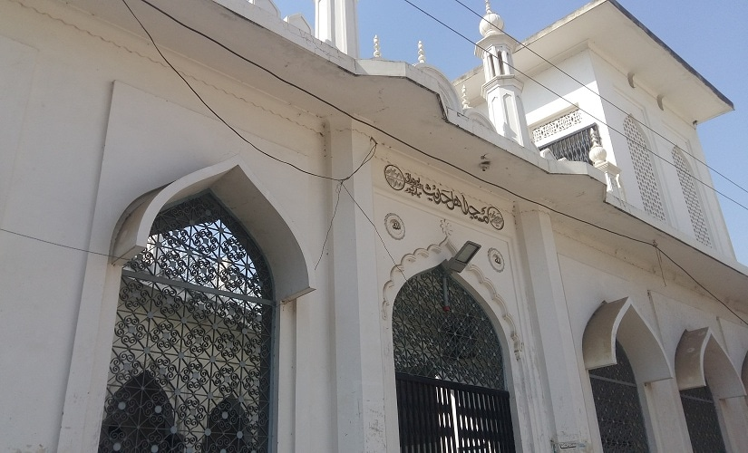 A mosque in Mubarakpur that declares in its name that it belongs to Ahle Hadith sect. Firstpost/Tufail Ahmed